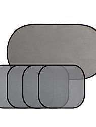 5 Stück Nylon-Mesh Sonne Isolierung Anti-UV-Autosonnenschutz