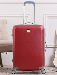 Unisex PVC Outdoor Luggage White / Pink / Green / Burgundy