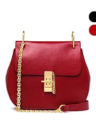 NAWO   Women-Casual / Office & Career-Cowhide-Shoulder Bag-Black-N154251