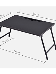 Folding Protable Black Laptop Stand / Fordable Desk 60*40