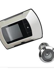 никакой проводки не легко установить 2,4-дюймовый визуальный электронный кот дверной звонок 30-мегапиксельной цифровой камерой