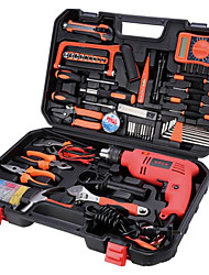 Multifunction Metal Toolbox, a Large Rechargeable Drill Tool Kit Home / Electrical Repair Hand Tools Kit