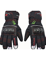 MOTRAVEL WPG01 Winter Ski Waterproof Leather and Carbon Fiber Motorcycle Riding Really Warm Gloves