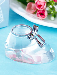 Recipient Gifts - 1Piece/Set Crystal Baby Shoe Favors, Gender Reveal Party Souvenirs