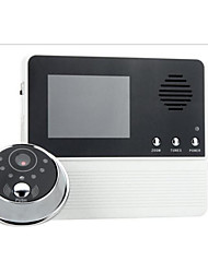 Three Magnification Video Doorphone Monitor Video Intercom Doorbell Monitor
