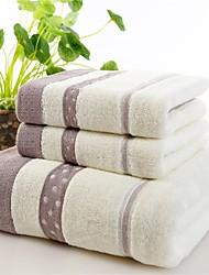 Serviette de bain,Fil teint Haute qualité 100% Coton Serviette