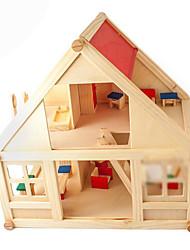 juguetes de los niños a mano bricolaje casa de la cabina chalet ensamblado casa de juegos