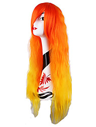 Cheap 100CM Cosplay Wigs Products Long Straight Synthetic Hair Wigs
