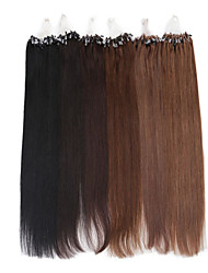 Neitsi 24inch Straight Micro Ring Loop Hair Extension Remy Hair Bundles 25g