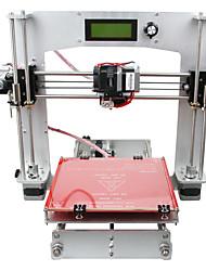 geeetech 3 d impressora all Prua alumínio i3 strutura 3 d kit de impressora 1,75 milímetros filamento / bico 0,3 milímetros