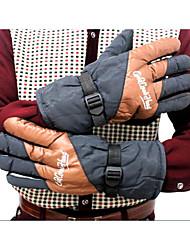 nouvelle circonscription d'hiver voiture électrique gants hiver chaud moto gants de ski pour hommes l'extension