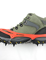 Hai yan outdoor 12 teeth  snow mountain antiskid shoe covers boots antiskid sheath exclusive design twelve big teeth