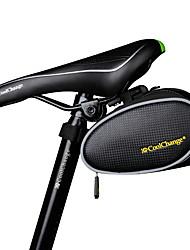 Bolsa de BicicletaBolsa para Bagageiro de Bicicleta Lista Reflectora / Vestível / Compacto / Bolsa Rígida Bolsa de BicicletaPele PU / PVC