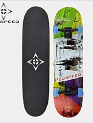 Skateboard (31 Zoll) 78,7 * 20cm LED-Licht-Räder ABEC-3 11mm9 Lagen Ahorndeck Hochgeschwindigkeitslager Räder