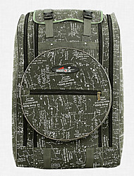 Canvas Camouflage Fishing Kit Backpack 80 * 50 CM