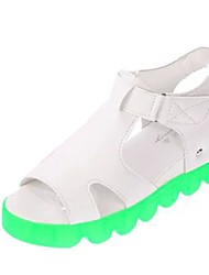 Women's Shoes Libo New Style Platform Comfort Sunny Sandals Office & Career / Dress / Casual Fuchsia / Blue / Green