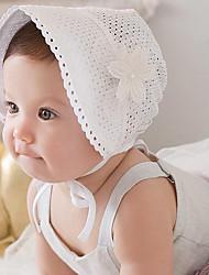 Girls Hats & Caps,All Seasons Cotton Blends Beige