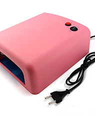 36w UV Nail Lamp Light Therapy Machine 4Light Tube