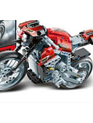 Genuine motorcycle puzzle blocks