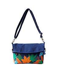 Flower Princess® Women Canvas Shoulder Bag Blue-1411XD001