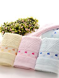 """1pc mão cheia de algodão toalha de 28 """"até 12"""" padrão de desenho animado super macio"""