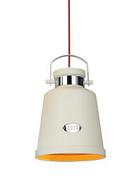 40W Lampe suspendue ,  Contemporain Peintures Fonctionnalité for Style mini / Designers MétalSalle à manger / Cuisine / Bureau/Bureau de