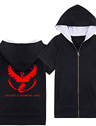 Inspired by Pocket Little Monster Cosplay Video Game Cosplay Costumes Cosplay Hoodies Geometric Short Sleeve T-shirt