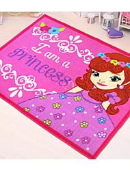 princesse tapis Jebsen dessin animé enfants voiture chambre rose soutien pad ramper
