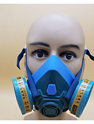 6201 Respirator Mask Big Vision Silicone Paint Decoration Formaldehyde Chemical Anti Dust