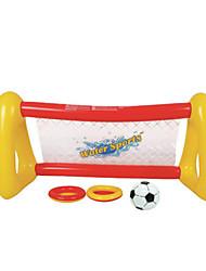 Вода игровое оборудование Открытый игрушки Квадратная PVC Серебристый / Белый Для детей Все