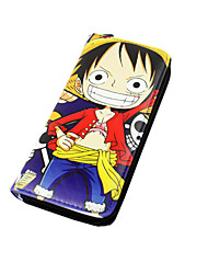 Bag / Wallets Inspired by One Piece Cosplay Anime Cosplay Accessories Wallet Black PU Leather Male / Female