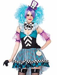 Anime Costume Cosplay Alice in Wonderland Mad Hatter Costume for Women Fantasia Cosplay Carnival Costume