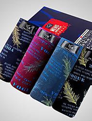 SHINO® Coton / Fibre de carbone de bambou Boxer Short 4 / boîte-F022