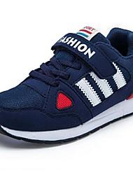 Para Niño / Para Niña-Tacón Plano-Confort-Zapatillas de Atletismo-Exterior / Casual / Deporte-Sintético / Tul-Azul / Rojo / Azul Real /
