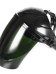 ménage anti-éblouissement casque protecteur en plastique organique bouchon de soudage