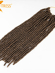 #27 La Havane / Crochet dreadlocks Extensions de cheveux 20 Inch Kanekalon 20 Brin 90g gramme Braids Hair