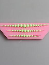 beads moules en silicone de chocolat, moules à gâteaux, moules à savon, des outils de décoration bakeware