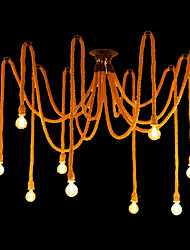 Lustres ,  Tradicional/Clássico Pintura Característica for Estilo Mini MetalSala de Estar Quarto Sala de Jantar Quarto de