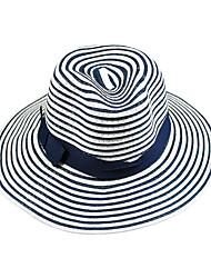 Mujer Sombrero para el sol Bonito / Casual-Otoño / Invierno-Paja