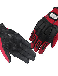 мотогонок перчатки полный палец перчатки скольжения дышащий ультрафиолетовый износ