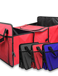 600d oxford pano tronco caixa de armazenamento multifuncional, caixa do pacote grande
