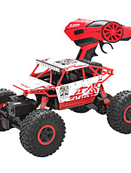 Buggy (Off-road) HB Hummer 1:18 Brushless Electric RC Car Red / Green / Blue Ready-to-go