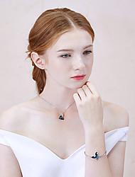 Miss Diva  Chain Bracelets 1pc,Silver Bracelet Fashionable Circle 514 Crystal Jewellery