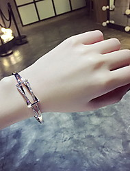 Stainless Steel Gold / Silver Bangle Bracelet