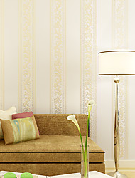 Contemporary Wallpaper Art Deco 3D European Stripe Simplicity Wallpaper Wall Covering Non-woven Fabric Wall Art
