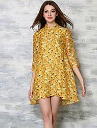 mulheres maxlindy de sair / partido / cocktail / street chique / chinoiserie vestido solto
