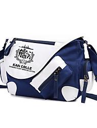Bolsa Inspirado por Kantai Collection Fantasias Anime Acessórios de Cosplay Bolsa / mochila Preto Náilon Masculino / Feminino