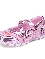 Girl's Flats Summer Nappa Leather Dress Casual Flat Heel Others Pink Fuchsia