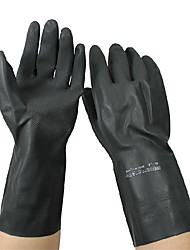 ansell® 48-126 перчатки черного с полиуретановым покрытием полиэстер слезоточивый износа перчатки покрытием ладони