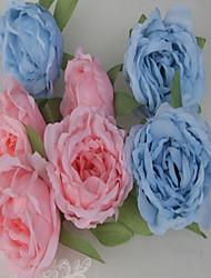 Шёлк Свадебные украшения-6шт / Установить Свадьба Обручение День Святого Валентина Цветы